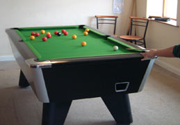 Lake District cottages  - games room